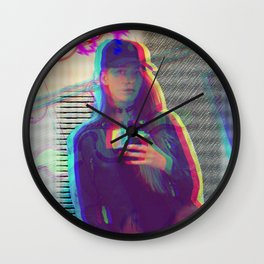 WATCH OUT Wall Clock