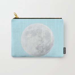 WHITE MOON + BLUE SKY Carry-All Pouch