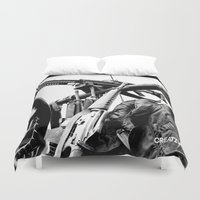 jeep Duvet Covers featuring Photo - Ready by jmerino
