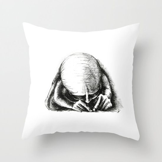 Ant II. Throw Pillow