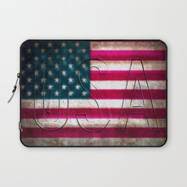 USA in Colour Laptop Sleeve