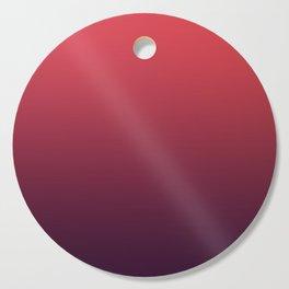 SPIRIT REFLECTION - Minimal Plain Soft Mood Color Blend Prints Cutting Board