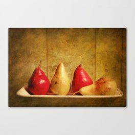 Pears Canvas Print