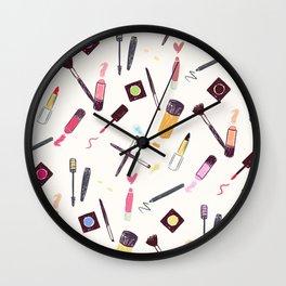 Lets Make up Vibrant Wall Clock