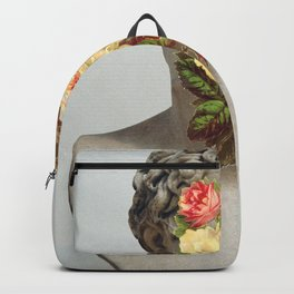 Bust With Flowers Backpack