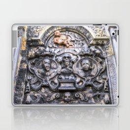Ancient Grave Stone Greyfriars Kirk Graveyard Laptop & iPad Skin