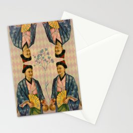 Antique Asian Trade Card Stationery Cards