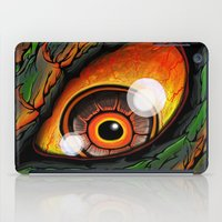 godzilla iPad Cases featuring Godzilla by Blake Cantrell