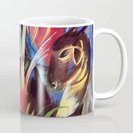 "Franz Marc ""Fabulous Beast I (also known as Composition of Animals I)"" Coffee Mug"