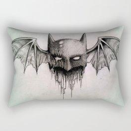 broken bat Rectangular Pillow