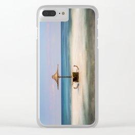 Seaside Bar Clear iPhone Case