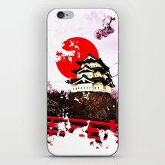 Japan Hirosaki Castle iPhone & iPod Skin