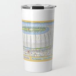 Castelão Arena, Fortaleza, Ceará, Brazil Travel Mug