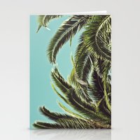 palms Stationery Cards featuring Palms by Lawson Images
