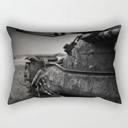 Taking the high ground Rectangular Pillow