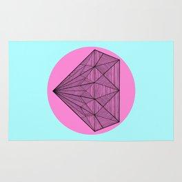 Crystaline in circle II Rug
