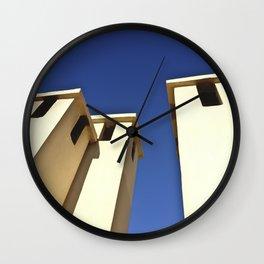 Blue sky, Morocco Wall Clock