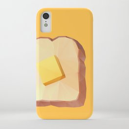Toast with Butter polygon art iPhone Case