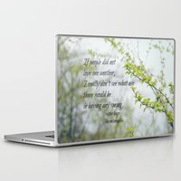 les miserables Laptop & iPad Skins featuring Les Miserables Love by KimberosePhotography
