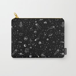 Space BW Carry-All Pouch