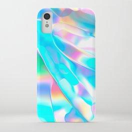 Blue Opal Iridescent  iPhone Case