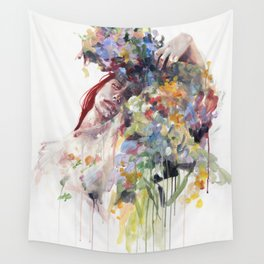 scentless flowers Wall Tapestry