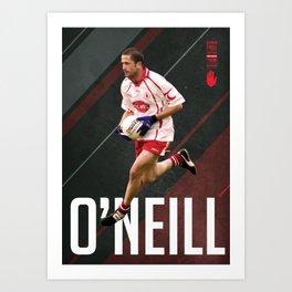 GAA Posters – Stephen O'Neill Art Print