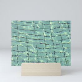 Water pattern Mini Art Print