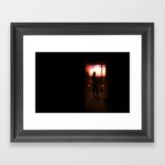 Thais @ Door Framed Art Print