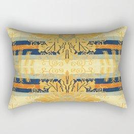 Saffron & Azure Rectangular Pillow