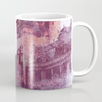 castle Mugs featuring Castle by Nechifor Ionut