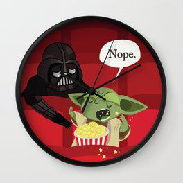 May I have some popcorn? Nope. Wall Clock