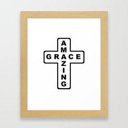 Amazing Grace Framed Art Print