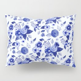 Flowers Print Pillow Sham