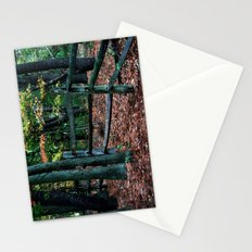 Forest Fence Stationery Cards