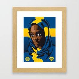 Svea Framed Art Print