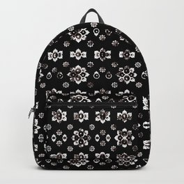 Dark Luxury Baroque Pattern Backpack