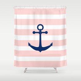 AFE Nautical Navy Ship Anchor Shower Curtain