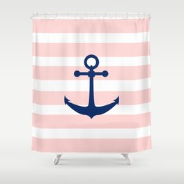 AFE Nautical Navy Ship Anchor Shower Curtain