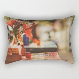 Summer early evening Rectangular Pillow