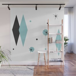 Vintage 1950s Mid Century Modern Design Wall Mural