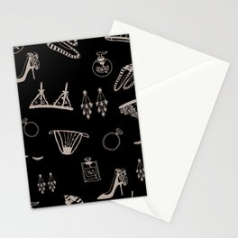Feminine Accessories Stationery Cards