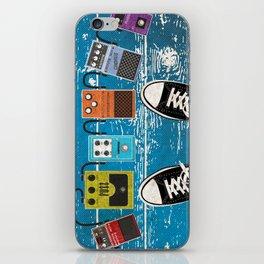 Guitar Music Effect Pedals iPhone Skin