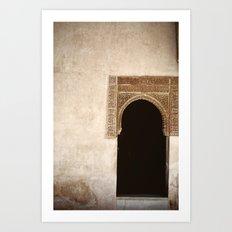 Alhambra Art Print