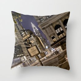 Chrysler Building - New York Artwork / Photography Throw Pillow