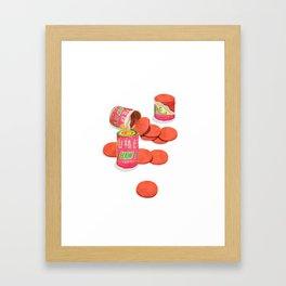 Haw Flakes Framed Art Print