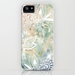 Paisley Earth iPhone Case