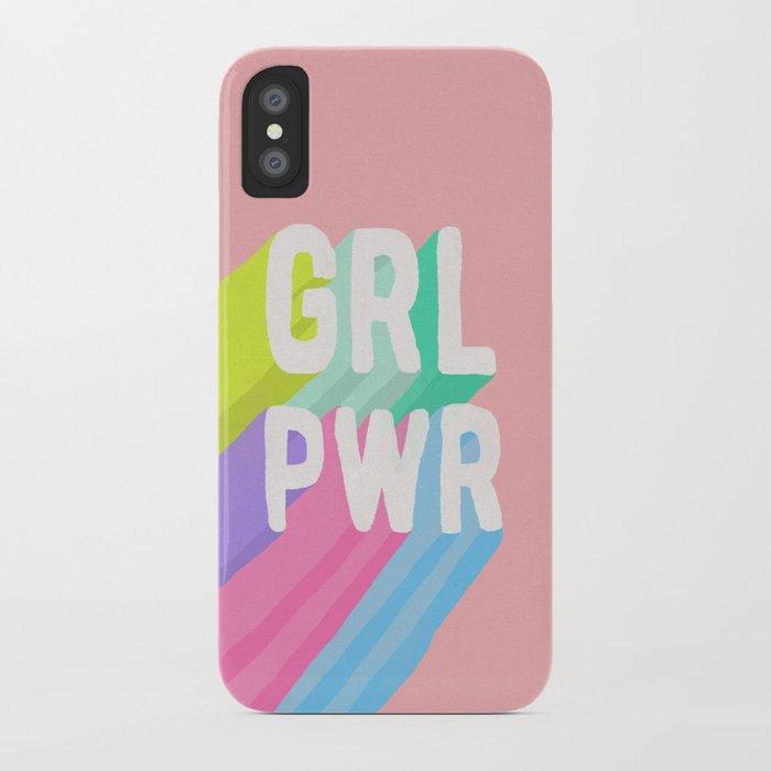 GRL PWR (II) iPhone Case