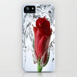 Rose Shower iPhone Case
