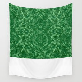 Tile Design Verde Wall Tapestry